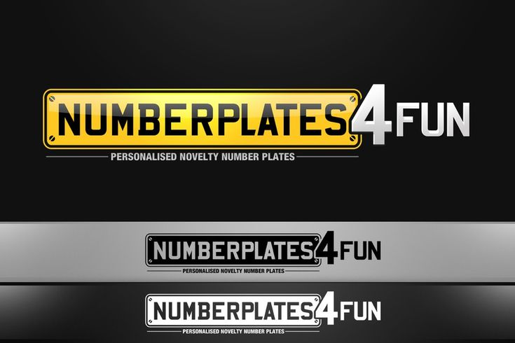 WROOM WROOM! Personalised Number Plates! by Fuaadh