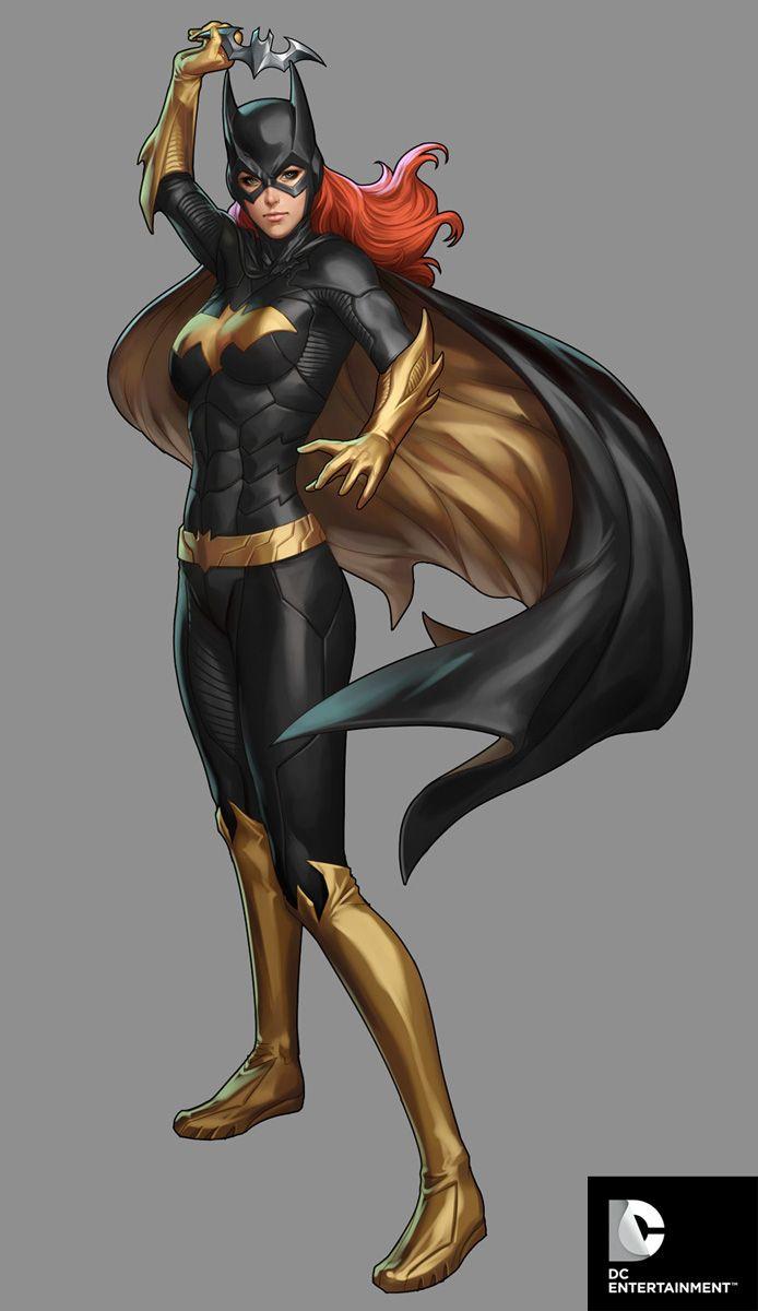 DC Comics Cover Girls - Batgirl by `Artgerm on deviantART
