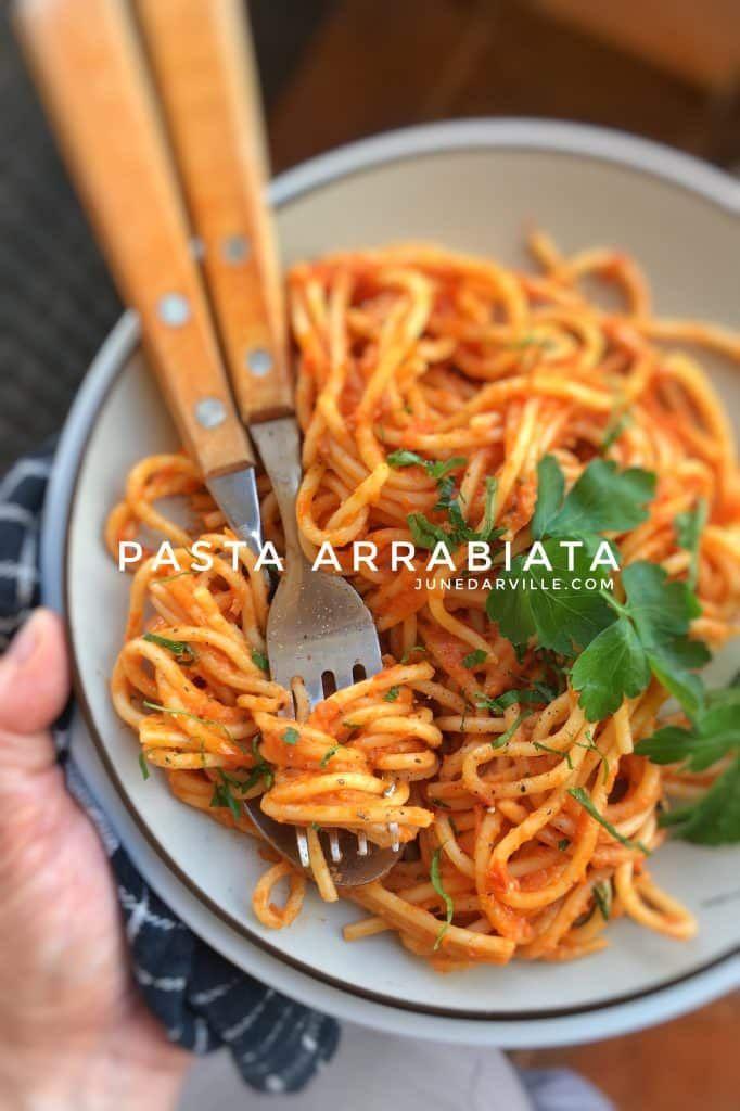 Pasta Arrabiata Recipe from scratch