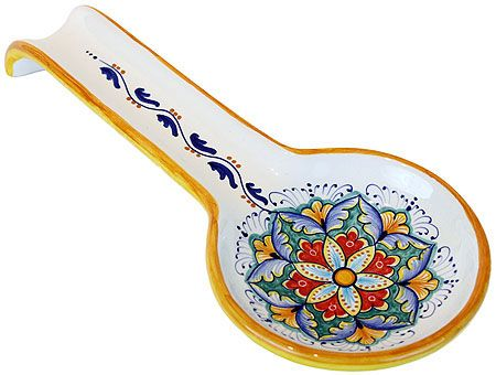 Spoon Rest - Vario style - 28cm long x 12 cm wide (11 in long x 4.75 in wide)