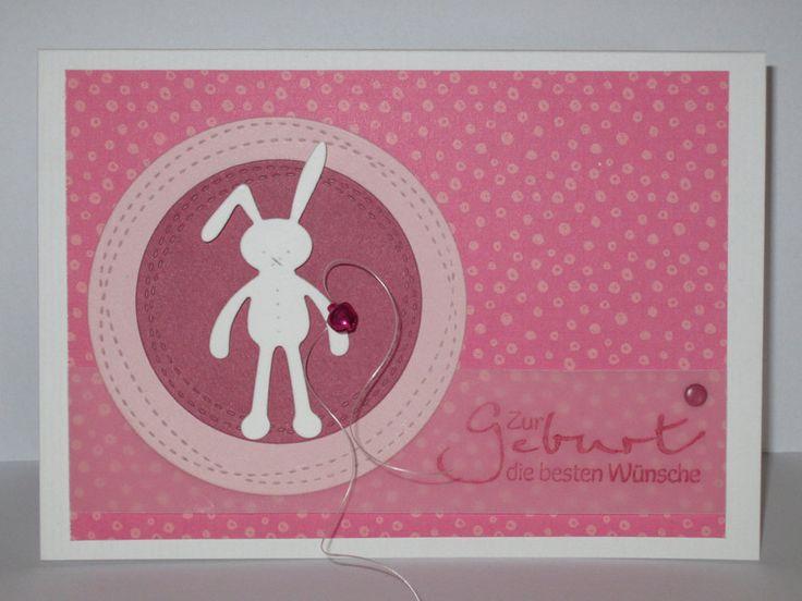 Baby- & Geburtskarten - Zur Geburt die besten Wünsche - ein Designerstück von Paper-Creativ bei DaWanda