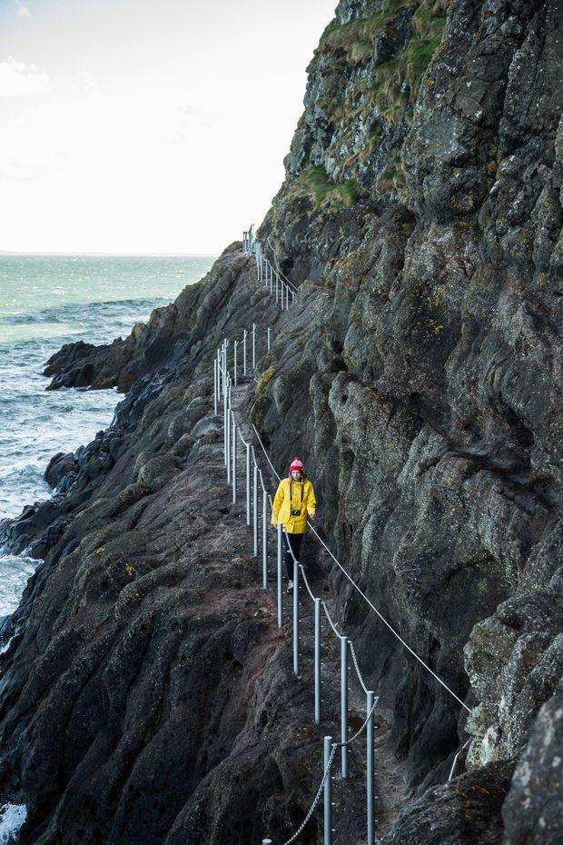 L'Irlande du Nord à flanc de falaise