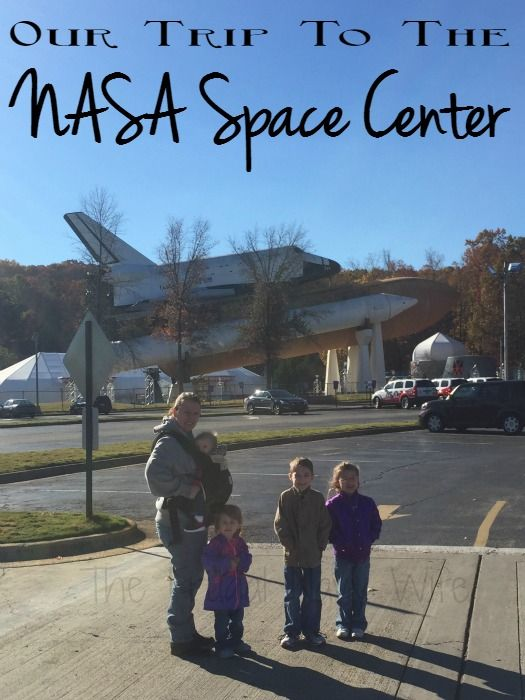 Our Visit to the NASA Space Center in Huntsville Alabama - Got a kid interested in space? This is the perfect field trip for them! See what you can expect!