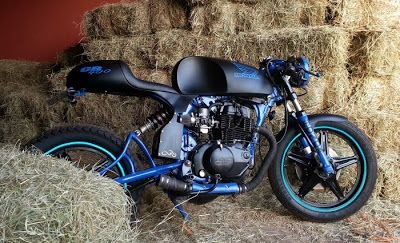Honda CB 400 Cafe Racer by Thiago Vidal - Lsr Bikes