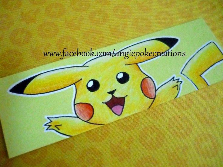 Marque-Pages Pokemon Dessin Pikachu