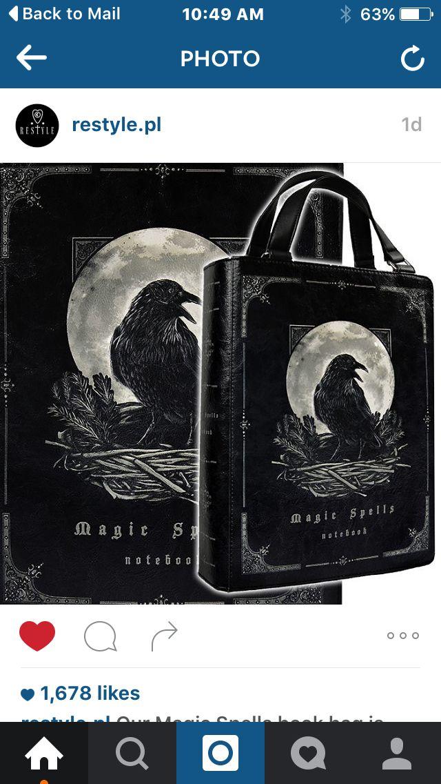 Magic Spells book bag