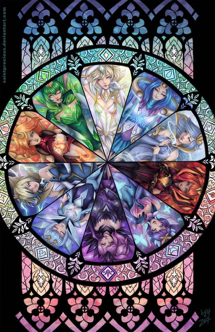 Elementalist Lux (All Forms) | Элементалист Люкс #UltimateSkin @League of Legends | Лига Легенд #LoL #ЛоЛ