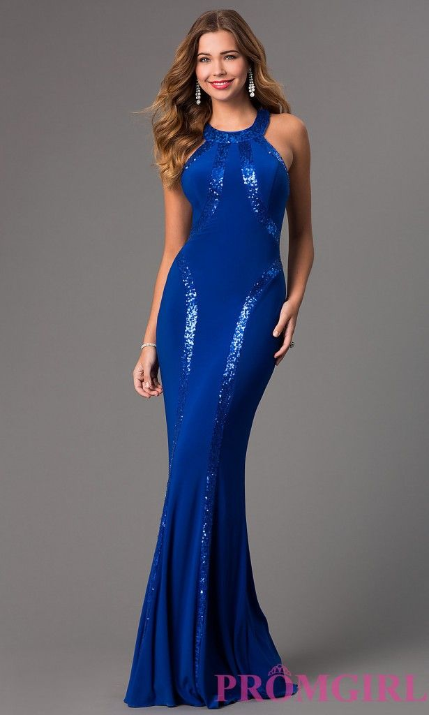 Latest Long Jersey High Neck Clothes 2015 By Mori Lee (2 ...