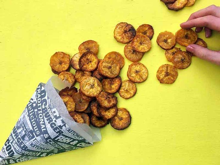 Plantain Chips Recipe [Just 3 ingredients] #recipe #sugarfree