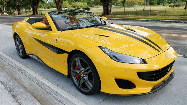 2020 Ferrari Portofino Yellow Ferrari Latest Cars Portofino