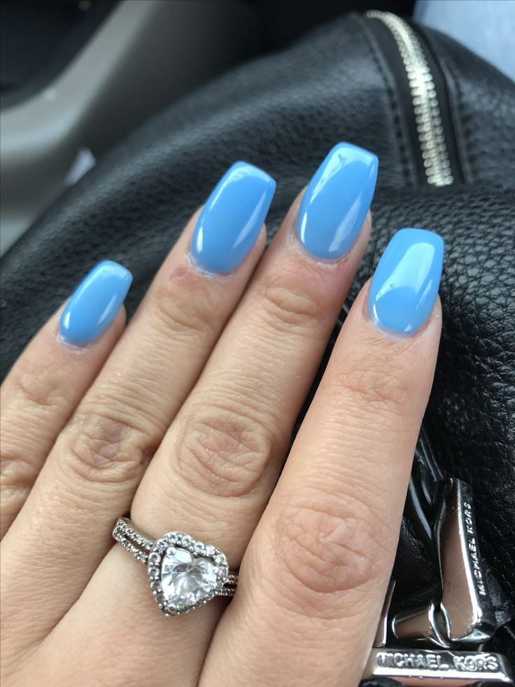 17 Best Ideas About Sky Blue Nails On Pinterest Pastel