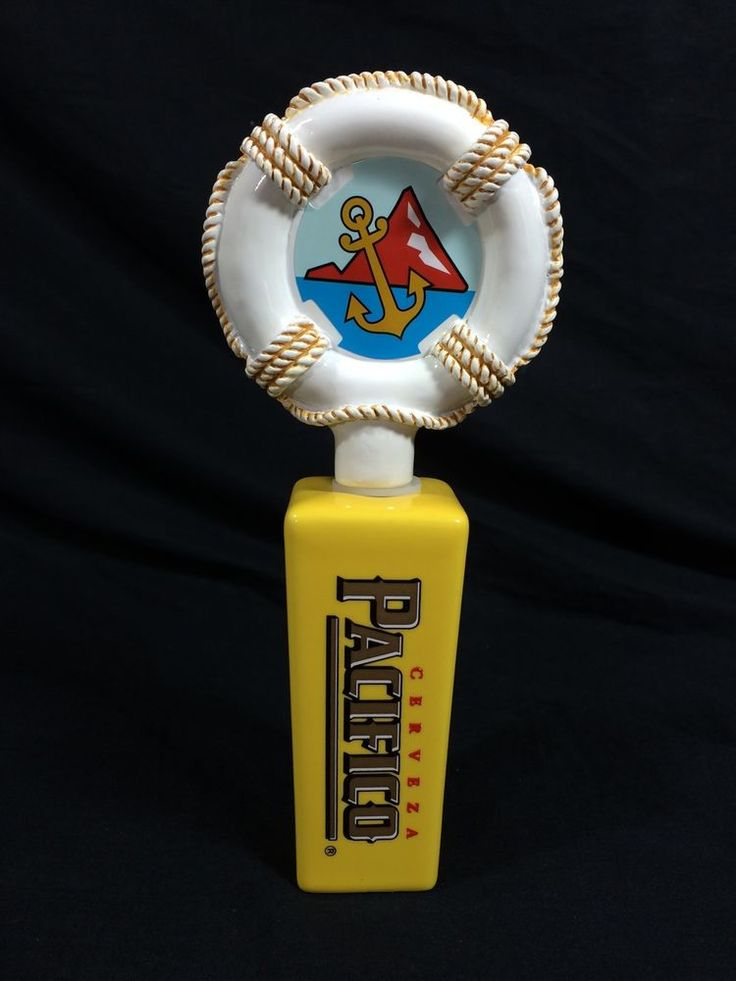 #Pacifico #Beer #Tap #Handle #Mini #Bar #Keg #Knob #Nautical #Tiki #breweriana #mancave