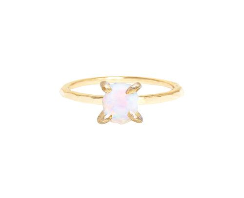 14k Gold Filled Rough Opal Ring By Sara Reynolds Jewelry
