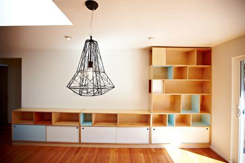kerf custom bookcase