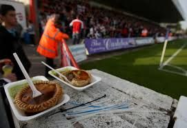 Meat Pies - If you can avoid burning your fingers or the roof of your mouth with the molten lava-esque filling then it feels like you've won the lottery.  Also it would be rude not to wash it down with another pint.