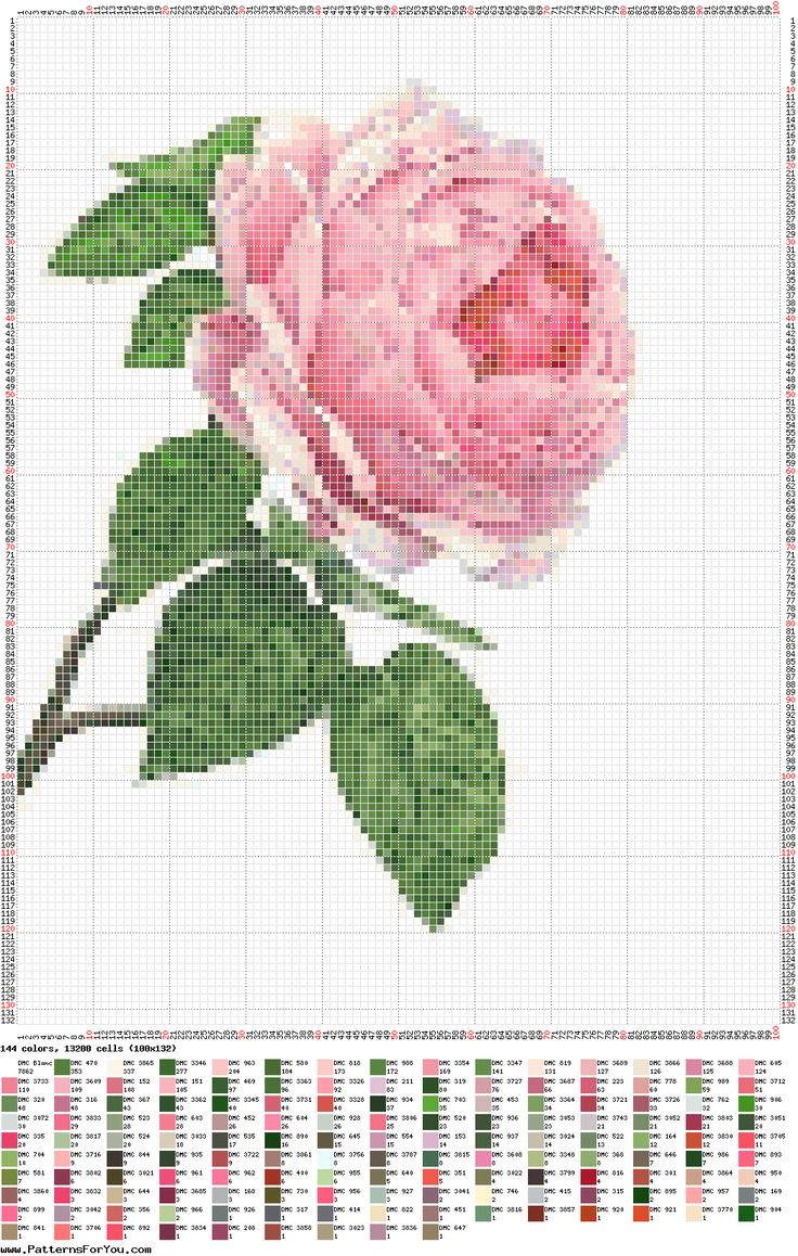 .-de-X-roses/d'altres-flors...  --rose-fleur-point de croix-cross stitch-embroidery