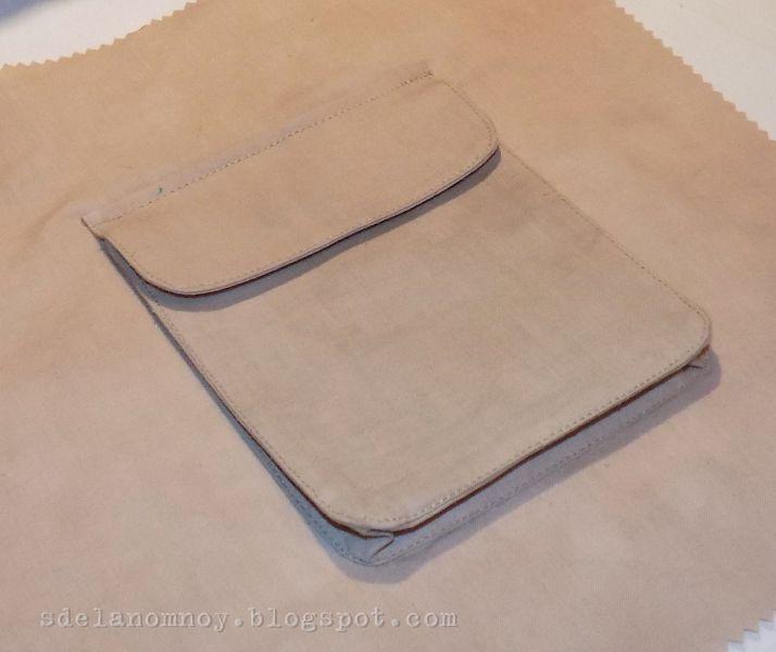 Девочки, всем приятного дня! )))) Сделала я обещанный МК по карману-портфелю. Фотик мой работает все хуже и хуже, пора его на пенсию отпра...