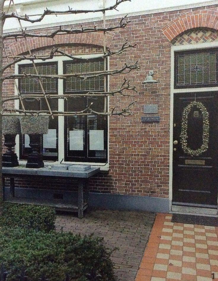 25 beste idee n over zwarte luiken op pinterest huis exterieur kleuren grijze buitenkant - Entree schilderij ...