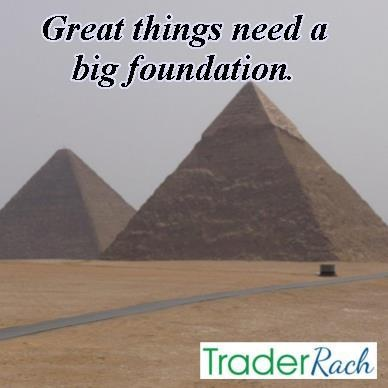 You need a solid foundation of trading knowledge and experience before you start trading large positions. Get the skills first. http://www.traderrach.com/