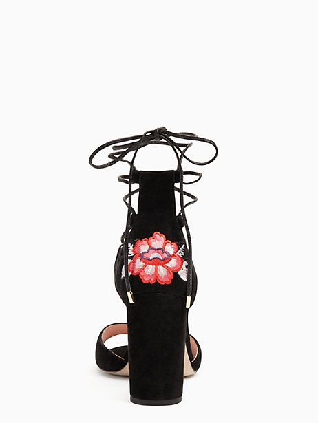 Kate Spade Oasis Heels, Black - Size 9.5