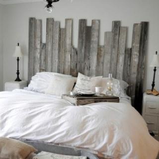 .Ideas, Beach Bedrooms, Shabby Chic, Head Boards, Diy Headboards, Master Bedrooms, Rustic Headboards, Barns Wood, Barn Wood