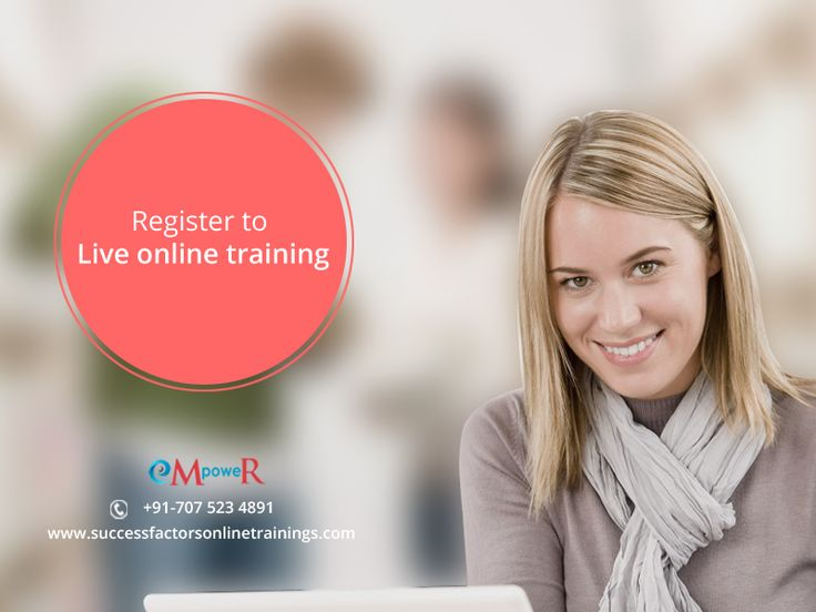 Get register with us to experience #LiveOnlineTraining by industry experts on #realtime projects. #Sapsuccessfactors