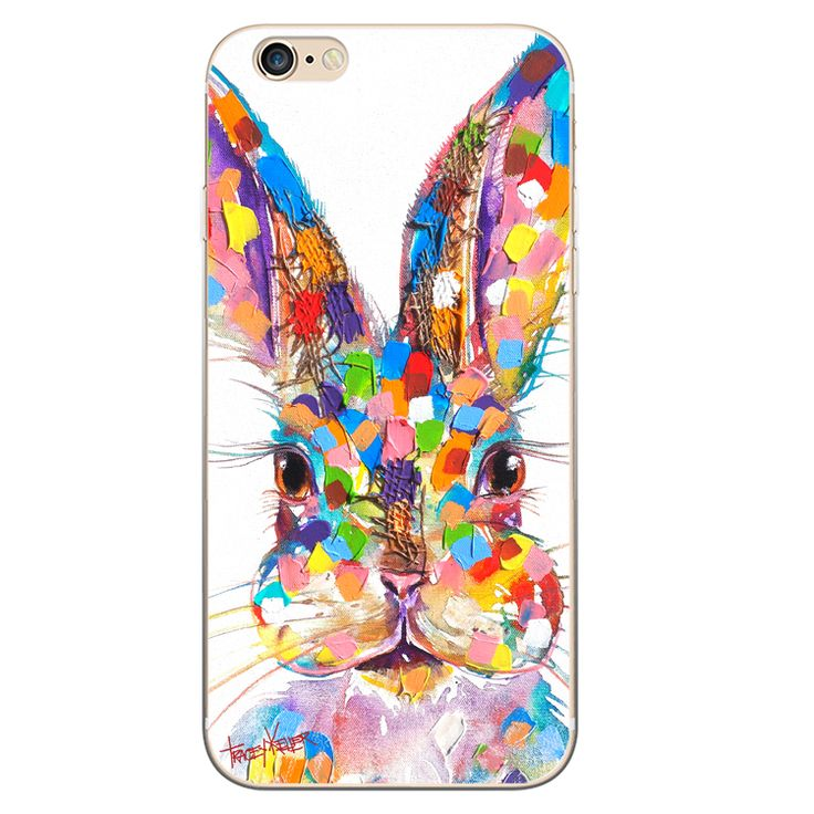Rabbit Face iPhone Case