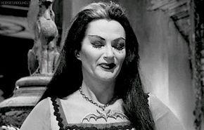 "horsesaround: """"Lily Munster - Yvonne De Carlo"" """