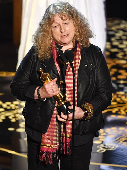The Oscars Moments Everyone Can't Stop Talking About   JENNY BEAVAN GETS SERIOUS ABOUT THE ENVIRONMENT   Racism wasn't the only serious issue nominees tackled at this year's Oscars.