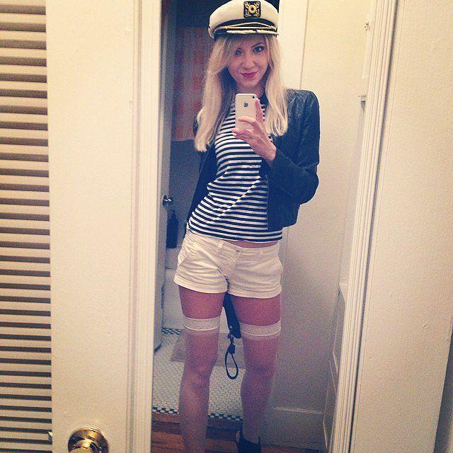 A Sailor Halloween costume
