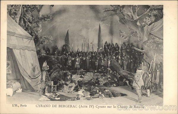 Cyrano de Bergerac (Act IV) Theatre :)