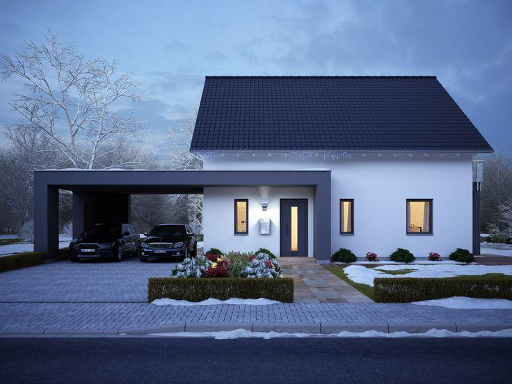 342 best EFH Satteldach images on Pinterest | Gable roof, Facades ...