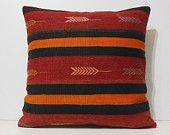 large sofa cushion 24x24 DECOLIC big pillow case giant outdoor cushion cover extra large couch pillow arrow red rug 15648 kilim pillow 60x60