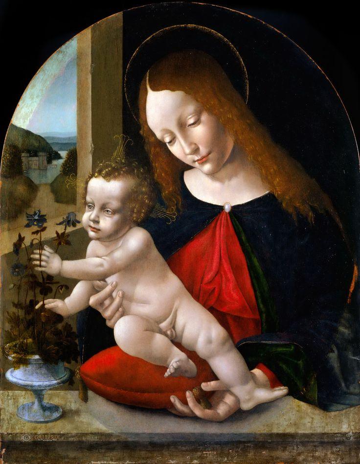 Madonna and Child (Leonardo da Vinci, Studio of)