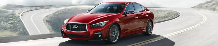 INFINITI Q50 Refreshed for 2018
