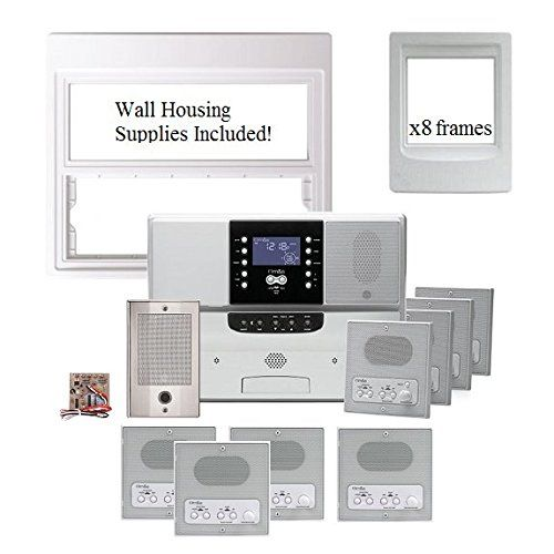Ms Upgrade Home Intercom Mc350 8 Roomtoroom Call Master Bluetooth Amazon Best Buy Surveillance Master Room Intercom Replacement Parts