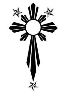 Filipino Sun/Cross by PandurBear on DeviantArt Tattoo 1 #filipinotattoossymbols