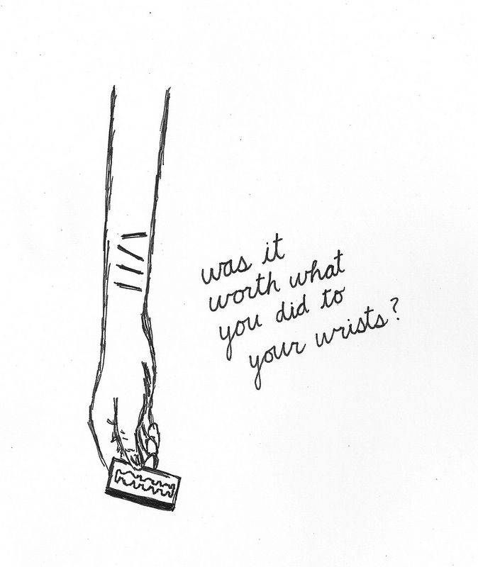 Emo Quotes About Suicide: 17 Best Images About Depression/ Self Harm/ Suicide On