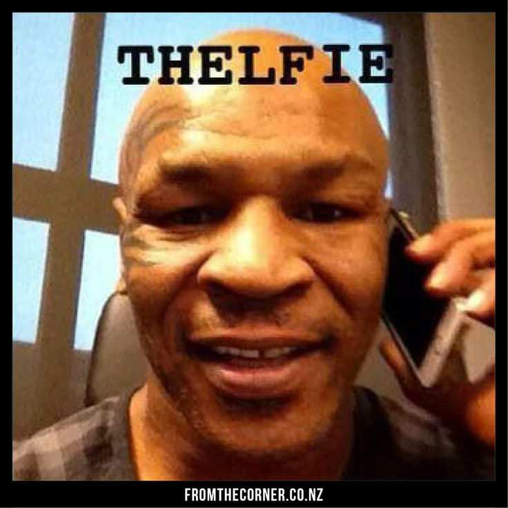 Mike Tyson Quotes: Selfie From Mike Tyson, Funny Pic From The Boxing Legend