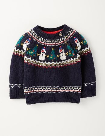 Baby Boden Winter Jumper Navy Snowman Fair Isle Baby Boden, Keeping baby warm and smart just got easier thanks to our supersoft knit jumper. With our adorable Fair Isle design, its ideal for wearing over little cord trousers at Christmas bashes. If apple puré http://www.MightGet.com/april-2017-1/baby-boden-winter-jumper-navy-snowman-fair-isle-baby-boden-.asp