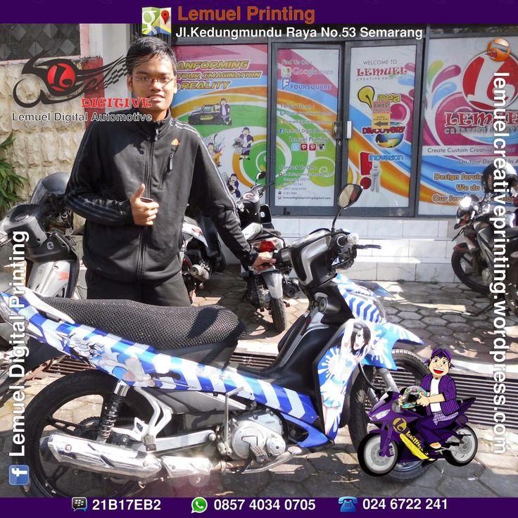Agan Damanika Faskayana, Salah satu Member Itansha Semarang, (Buat adek katanya). #DIGITIVE #KreatifitasLeMuel #LeMuel #ProdukProdukKreatifLeMuel #StripingMotor #StripingMotorBebek #StripingMotorFullBody #StripingMotorJupiterZ