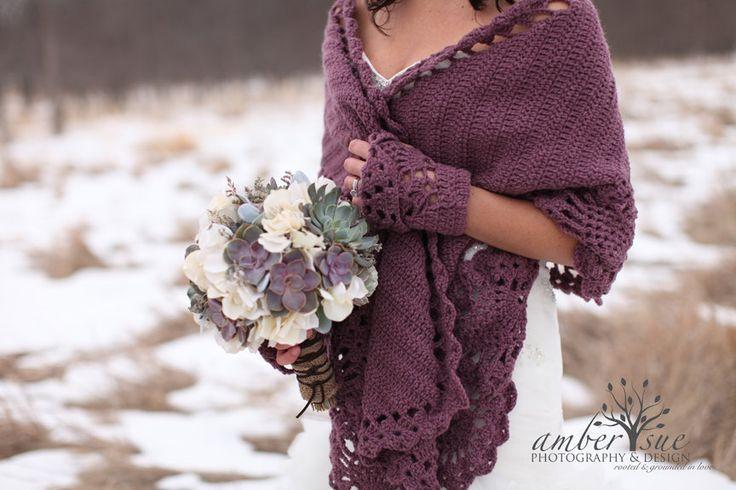 COZY SHAWL -CROCHET Shawl / Wedding Shawl / Bridal Shawl Crochet Wrap Stole /