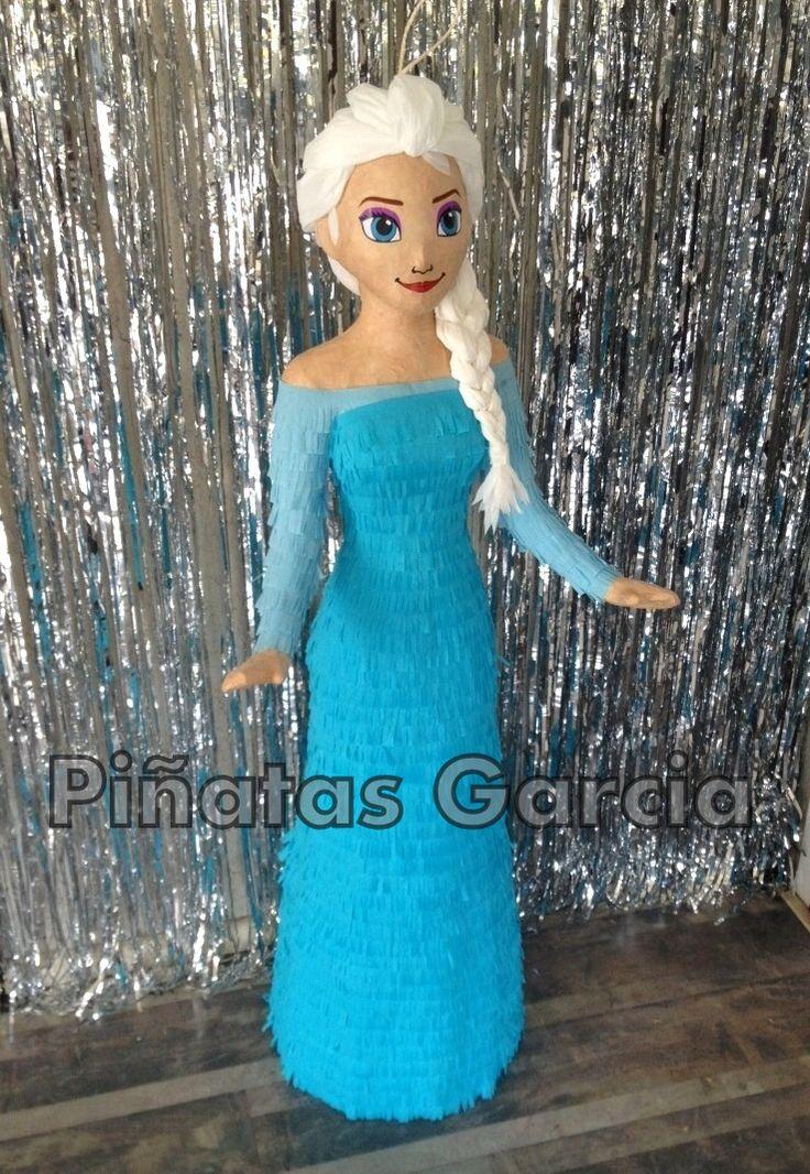 Pinata Princess Elsa from Frozen, Disney | Piñatas Garcia ...