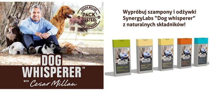 Szampony dla psów Cesar Millan dostępne w naszym sklepie!