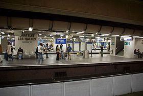 Image illustrative de l'article Gare de Châtelet - Les Halles