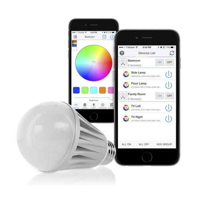 Nuti Led Pirn Valge Smart Lights Led Light Bulb Color Changing Lights