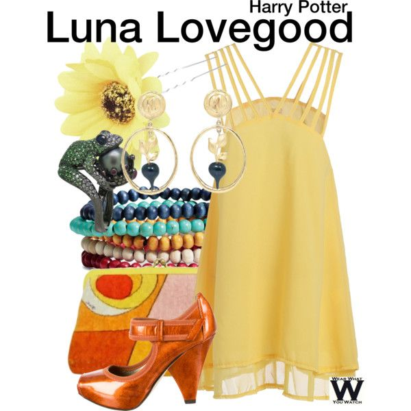 Inspired by Evanna Lynch as Luna Lovegood in the Harry Potter film franchise