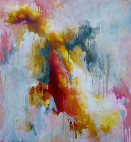 'A New Beginning' Abstract art