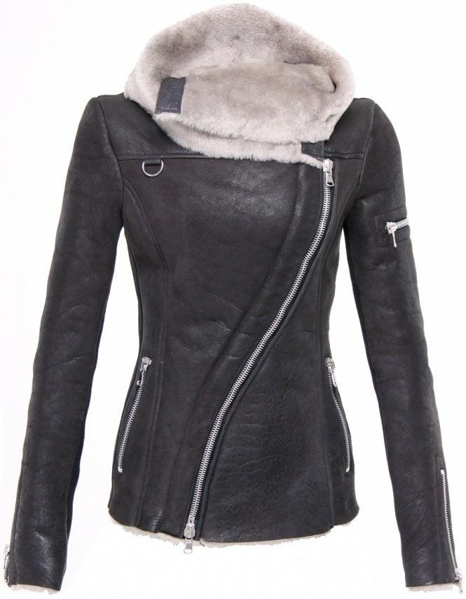Ash arnelle sheepskin jacket