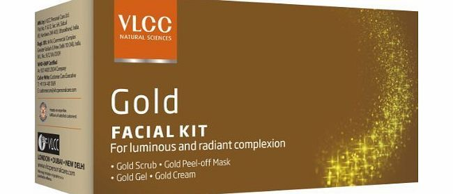 VLCC Natural Sciences Gold Facial Kit For Luminous